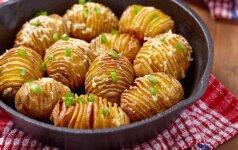 Trys būdai, kaip paruošti karštą bulvių garnyrą
