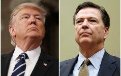 D. Trumpas paneigė įrašinėjęs pokalbius su buvusiu FTB vadovu