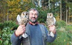 Stebėdamas rudagalvį kirą žuvo garsus ornitologas V.Pareigis