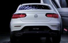 Šiuo metu mažiausias Mercedes kupė kėbulo SUV yra GLC Coupe