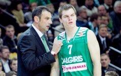 A.Trifunovičius: žaidimas gerėja, tačiau jis dar toli gražu nėra geras