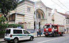 Sujudimas Vilniaus sinagogoje: dirbo policija ir ugniagesiai