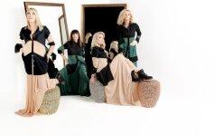 Penki skirtingi Pop Ladies įvaizdžiai (R.Tangurio nuotr.)