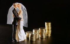 Kokios vestuvinės dovanos labiausiai patinka lietuviams?