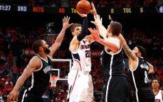 """""""Hawks"""" persvėrė NBA Rytų konferencijos serijos rezultatą"""