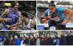 Adamsų šeimynėlės istorija: ekstravagantiškasis NBA ūsuotis turi 17 brolių ir seserų