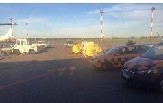 Avariniu būdu Vilniuje nusileidusio lėktuvo keleivė: kartais kelios minutės trunka amžinybę