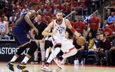 Pasibaigus NBA sezonui J. Valančiūnas jau dairosi į Lietuvos rinktinę