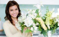 10 patarimų, kad gėlės džiugintų ilgiau