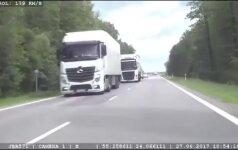 """Nufilmuoti pažemės """"lakūnai"""": už beprotišką greitį teks atsisveikinti su vairavimu"""