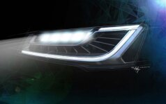 Audi matriciniai LED žibintai