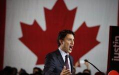 Liberalų partijos vadovas Justinas Trudeau