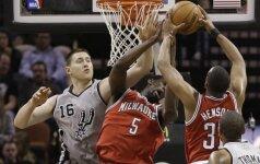"""""""Spurs"""" klubas šventė 32-ą pergalę NBA čempionate"""