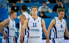 Atgimę suomiai gavo vardinį kvietimą į pasaulio krepšinio čempionatą