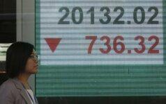 Finansų rinkose - chaosas