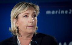 Prancūzijos policija atliko kratą M. Le Pen partijos būstinėje