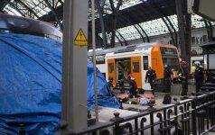 Traukinio avarija Barselonoje