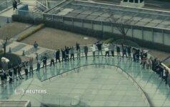 Japonijoje vykusio breiko čempionato atrankos akimirkos