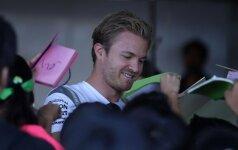 N. Rosbergui iškovoti titulą gali sutrukdyti tik didelė nesėkmė
