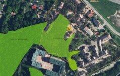 Neįtikėtina sparta: po trejų metų prisiminė, kad Vilniuje nelegaliai aptvertas miškas