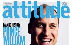 Princas Williamas – ant gėjų žurnalo viršelio