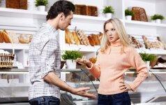 Būsimą vyrą pažinsi... parduotuvėje