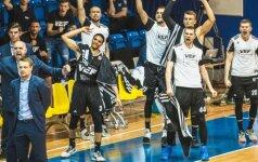 Latvijos čempionato finale – A. Labucko atstovaujamos VEF komandos dominavimas