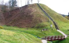 Merkinės piliakalnis. Dzūkijos NP