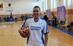 """Į pergalę """"Dinamo"""" ekipą vedė ypač rezultatyvus K. Nacickaitės žaidimas"""
