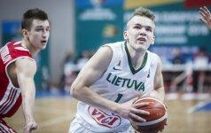 Europos 18-mečių čempionato startas: Lietuva – Suomija (tiesioginė vaizdo transliacija)