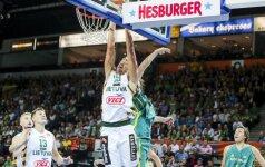 Eilinė pergalė: Lietuvos rinktinė neturėjo vargo su Australijos krepšininkais