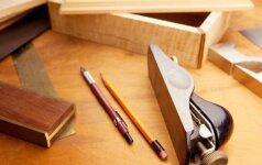 Darau pats: 5 baldai, kuriuos sugebės susimeistrauti kiekvienas