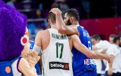 """""""Eurobasket 2017"""" aštuntfinalio TOP-5: graiko I. Bourousio dėjimas, nutildęs lietuvių sirgalius"""