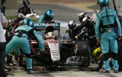 L. Hamiltonas lenktynes Belgijoje pradės iš rikiuotės galo