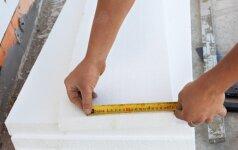 Namų apšiltinimo sezonas: ką verta žintoti apie polistireninį putplastį