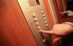 Kaune sugedęs liftas įkalino moterį