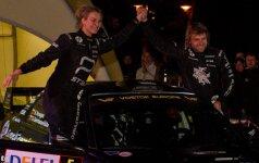 Paskutinį ralio etapą Druskininkuose laimėjo B. Vanagas ir G. Germanavičiūtė