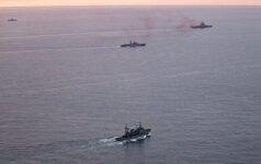 Lamanšo sąsiauriu plaukia Rusijos karo laivai