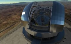 Daugiau nei 1 mlrd. eurų kainuosiantis teleskopas Čilėje taps didžiausiu pasaulyje