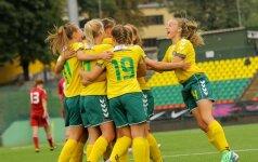 Lietuvos moterų futbolo rinktinė FIFA reitinge pakilo į 82-ąją vietą
