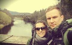 Dėl dovanos savo šaliai lietuviai ketina nueiti 2 tūkst. kilometrų pėsčiomis