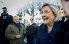 Prancūzijos kraštutinių kairiųjų kandidatė į prezidentus atsisakė atvykti į apklausą