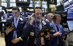 JAV akcijų rinką palaiko šalies bankų sektorius, Europos – finansų