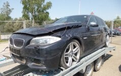 Vokietijoje vogtu BMW nuo pasieniečių žvyrkeliu spruko 150 km/h greičiu