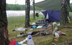 Tyrimas parodė: stovyklaujam taip, kad reikėtų sunerimti