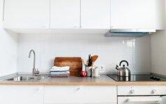 Kaip sutvarkyti virtuvę greitai ir su malonumu
