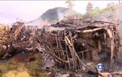 Brazilijoje per didžiulę avariją žuvo 21 žmogus