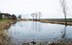 Kauno prokurorai nustatė, kad draustinyje pelkės tvenkiniais virto neteisėtai