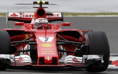 "Kimi Raikkonenas (""Ferrari"")"