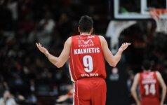 Italijoje – antausis klaidose skendusiai Milano ekipai, M. Kalnietis – be taškų